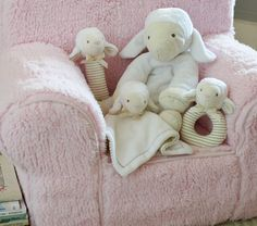 Nursery Lamb Plush Collection | Pottery Barn Kids.... love the lamb thumbie as they call it!