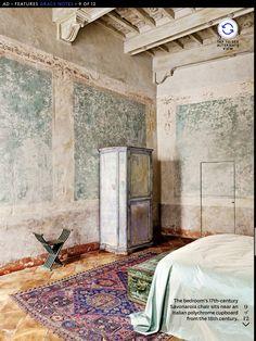 wabi sabi with an intricate and feminine twist I bedroom decor I interior styling I rustic chic Wabi Sabi, Interior Architecture, Interior And Exterior, Architecture Layout, Interior Styling, Interior Decorating, Interior Inspiration, Design Inspiration, Distressed Walls