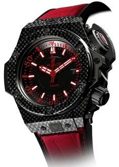 22b145c90fa Hublot 4000M Carbon Diver (Oceanographic 4000) Sharp Dressed Man