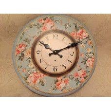 Floral Design Clock £8.95