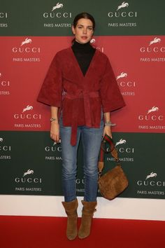 Charlotte Casiraghi '70s are back!
