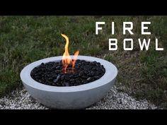 Make Your Own DIY Outdoor Concrete Fire Bowl | CONTEMPORIST