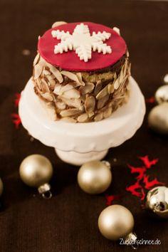 Zuckerschnee.de: Weihnachtliche Mousse au Chocolat Törtchen