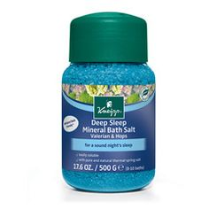 What: 100% natural mineral bath salts that promote deep, restorative sleep.