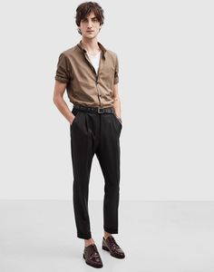 The Kooples Spring/Summer 2016 Style Masculin, Look Man, Casual Outfits, Fashion Outfits, Fashion Styles, Herren Outfit, Inspiration Mode, Outfit Jeans, Mode Streetwear