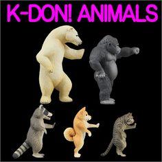 K-DON! ANIMALS | 商品詳細情報 | 商品をさがす | タカラトミーアーツ