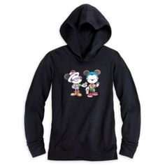 Mickey Mouse and Minnie ''New Castle Coffee Break'' Hoodie for Women. $39.95