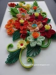 quilling flowers - Google Search