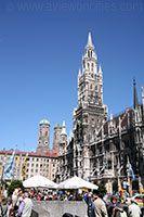 Marienplatz, a historic square in Munich!