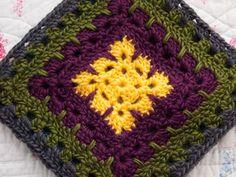 yarnaway: a crochet scrapbook: granny squares