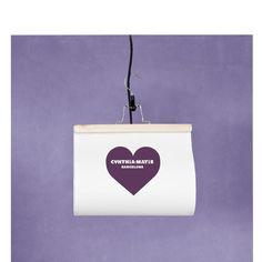 Pecamia Lampe CORAZON personalisiert von Pecamia auf DaWanda.com
