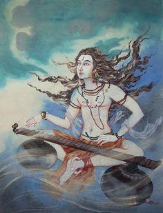 Kala Ksetram, Shiva Veenadhara by Tanushree Ghosh