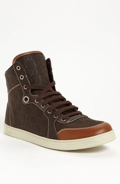 Gucci 'Coda' High Top Sneaker - $495 #Nordstrom - First Gucci high tops I'd be willing to spend the money on