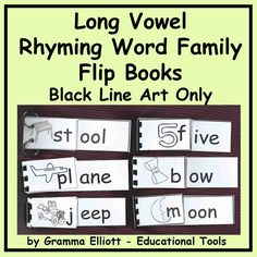 ... -Word Families on Pinterest | Word families, Ales and Long vowels