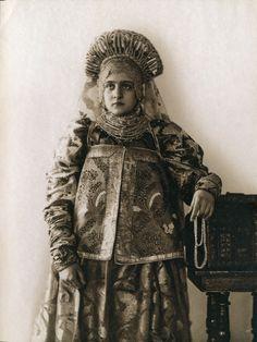 Костюм Тверской губ., из коллекции Натальи Шабельской