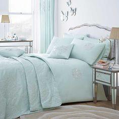 Bedroom Decorating Ideas Duck Egg Blue dorma duck egg regency bedlinen collection #dorma #pinittowinit