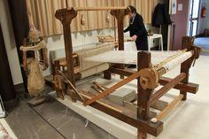 Antico telaio per la filatura della #canapa - Antica Fiera della Canapa #Gambettola 22 Novembre 2014