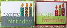 World Of Michael Trent: Happy Birthday Card - Mixing Dies with Stencils