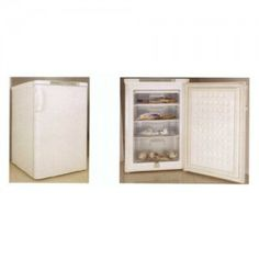 • Upright front opening freezer • Has volume capacity of 120/85L • European energy rating of 4 stars