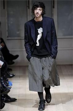 Yohji Yamamoto Mens FW09, Paris - StyleZeitgeist