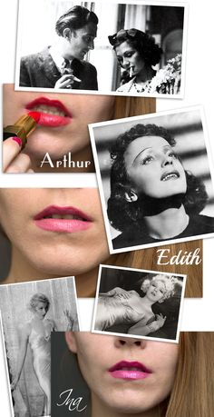 3 shades from the Rouge Coco Lipsticks. Rouge, Chanel and history. The Rouge, Lipsticks, Chanel, History, Blog, Movie Posters, Art, Art Background, Historia