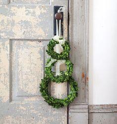 Preserved Boxwood Wreaths |