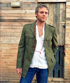 Vintage military jacket *SOLD* | £50.00 | The Stellar Boutique | fashion shop | vintage clothing | boho clothing
