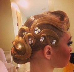 Ballroom Hair on Pinterest | Dance Hair, Ballroom Dance Hair and ...