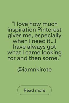 Hear from @iamnkirote, the winner of the Black Gold creator competition. Sit down with us to find out about her top tips for getting started on Pinterest, where she finds her inspiration and what board she currently has on her Pinterest widget.