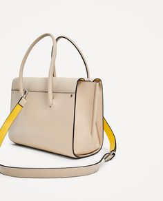 Image 3 of CITY BAG WITH PENDANT from Zara