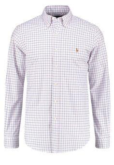 Polo Ralph Lauren SLIM FIT Hemd pink/white Premium bei Zalando.de   Material Oberstoff: 98% Baumwolle, 2% Elasthan   Premium jetzt versandkostenfrei bei Zalando.de bestellen!
