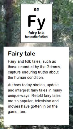Sh short story periodic table of literary elements pinterest fy fairy tale urtaz Gallery