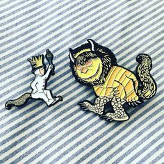 Repost @nostalgiapinco  Where the Wild things Are pins have arrived! I am so happy to start offering these pins inspired by one of my favorite childhood books! They are available in the shop now! pingame#patchgame#enamelpin#enamelpins#lapelpin#lapelpins#pinstagram#pinoftheday#pincollector#pincollection#pinlife#hatpin#pinsofig#pingamestrong#gamingsetup#gameofthrones#pinhead#etsy#flair #wherethewildthingsare #max #movie #childrensbook #family #lit #friends #fun    (Posted by…