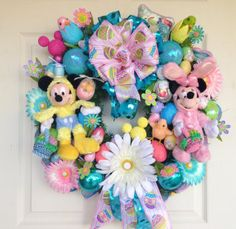 Mickey Chick and Minnie Bunny Easter by SparkleForYourCastle, $179.00