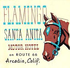 Flamingo Santa Anita Motor Hotel by hmdavid, via Flickr