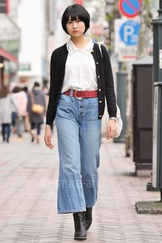 Yume | used ZARA  H&;M DIESEL niko and... | 4th week  Oct. 2016 | Shibuya | Tokyo Street Style | TOKYO STREET FASHION NEWS | style-arena.jp Shibuya Tokyo, Tokyo Street Style, Oct 2016, Street Snap, Japanese Street Fashion, Different Styles, Fashion News, Diesel, Ethnic