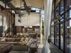 Glazed Studio House by Tom Kundig