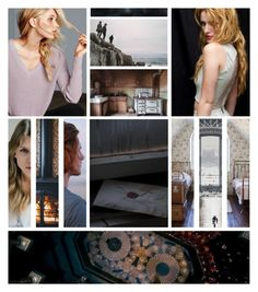 """""""{ oh, oblivion } -- Victoire & Dominique"""" by eisenbuns ❤ liked on Polyvore featuring art"""