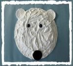 A puffy paint (glue and non-menthol shaving cream) paper plate polar bear! A puffy paint (glue and non-menthol shaving cream) paper plate polar bear! Animal Crafts For Kids, Winter Crafts For Kids, Toddler Crafts, Spring Crafts, Kids Crafts, Snow Crafts, Puffy Paint, Artic Animals, Hibernating Animals