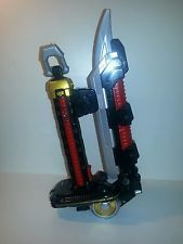 POWER RANGERS SAMURAI DELUXE MEGA BLADE SWORD W/ SOUNDS ~ BANDAI 2010