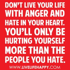 Hate... Don't!