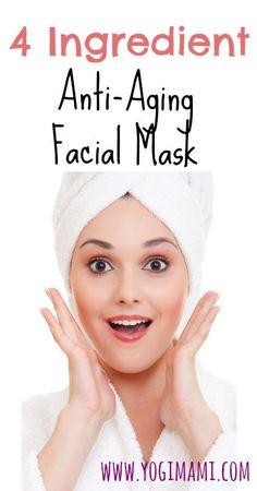 4-Ingredient Anti-Aging Facial Mask