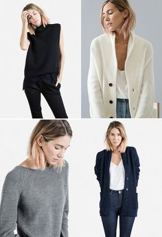 THE FASHION FILES: EVERLANE FALL/WINTER COLLECTION | THE STYLE FILES