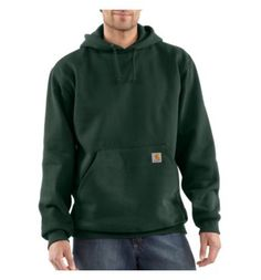 Carhartt - Product - Men's Heavyweight Hooded Pullover Sweatshirt