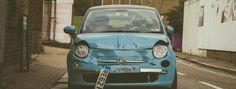 Véhicule hors d'usage Fiat 500
