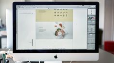 Vertical Style Guide Template on Behance