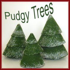 Felt Christmas Trees Easy