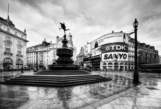 After the rain, Piccadilly Circus, London. Found on flickr - taken by Philipp Klinger Photography.
