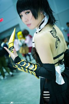 Soi-Fon cosplay  I want that tattoo!!! Bleach Cosplay, All Anime, Cosplay Girls, Cosplay Costumes, Cosplay Ideas, Costume Ideas, Costume Design, Pasta, Diys