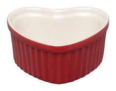HIC Harold Import Co 98062RSHIC Heart Red 3 oz Souffle Home Decor Products ** Want additional info? Click on the image. (Note:Amazon affiliate link)